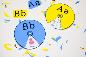 printable alphabet spinners..