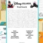 Disney word games